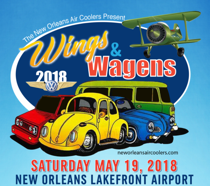 Wings Wagens Car Show NOAC - New orleans car show